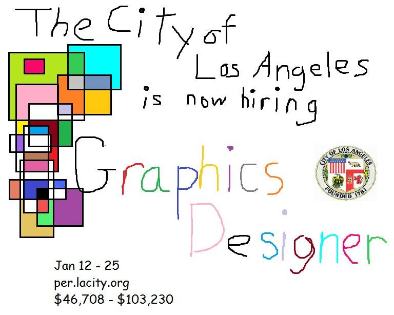 graphic designer needed los angeles