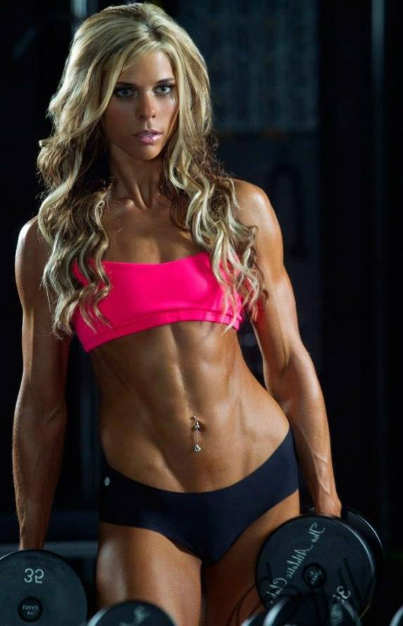 Flat Tummy Tuesday Returns - Girls With Ripped Abs-4399