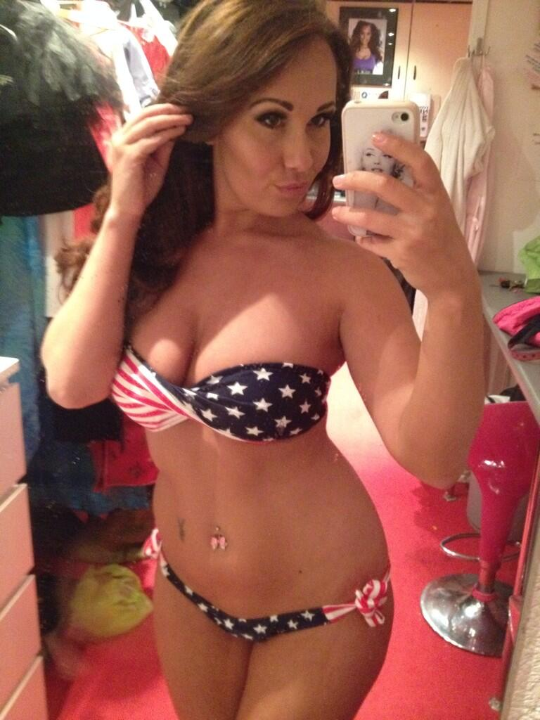 Patriotic Bikini Girls Of The Usa 2014