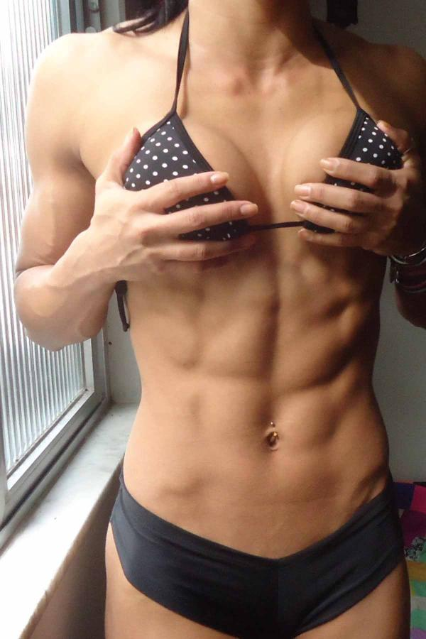 Shredded Or Just Lean - Images Of Hot Girls With Great Abs-9517