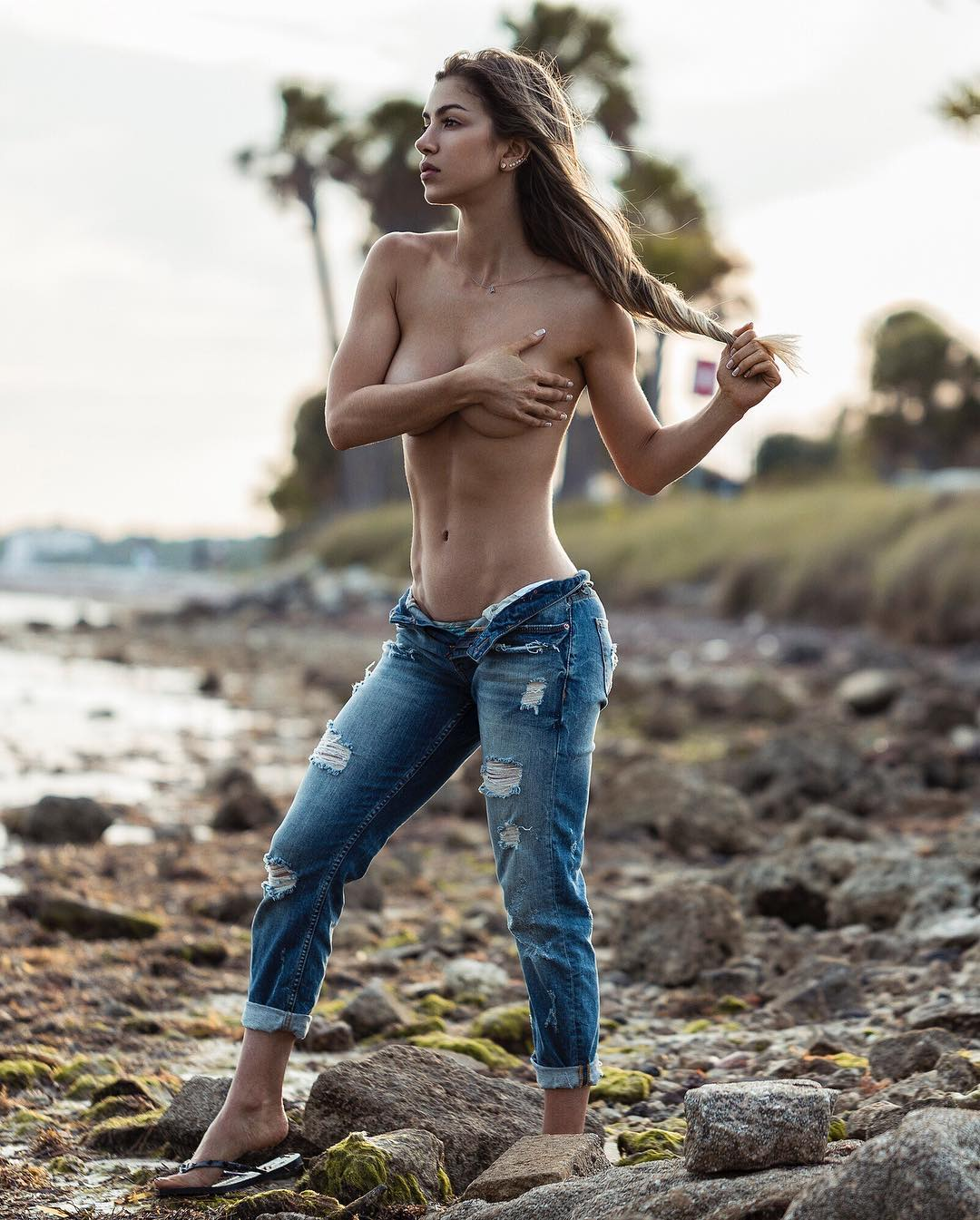 Anllela sagra before and after