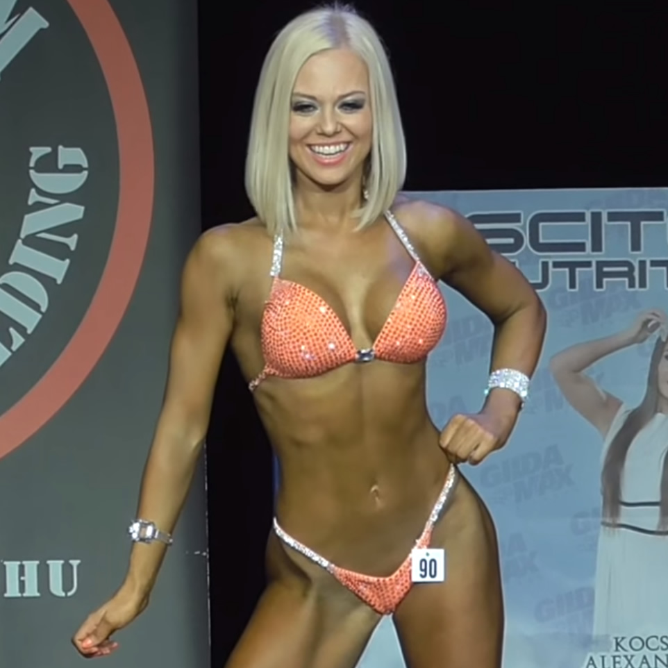 Amazing Bikini Fitness Champion Virág Kiss